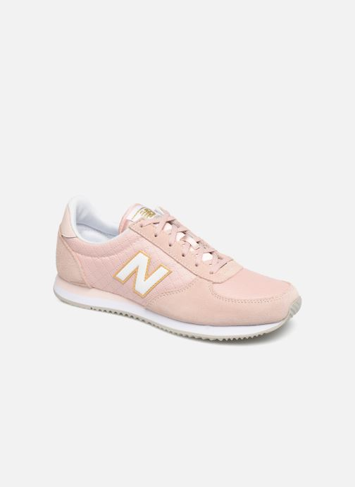Baskets New Balance U220 W Rose vue détail/paire